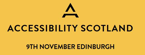 Accessibility Scotland logo