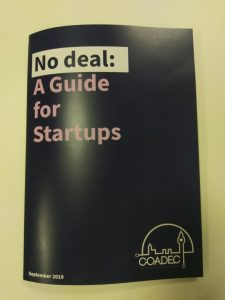 No Deal: a guide for startups