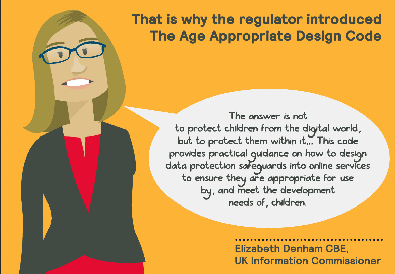 Cartoon Data Protection Lady
