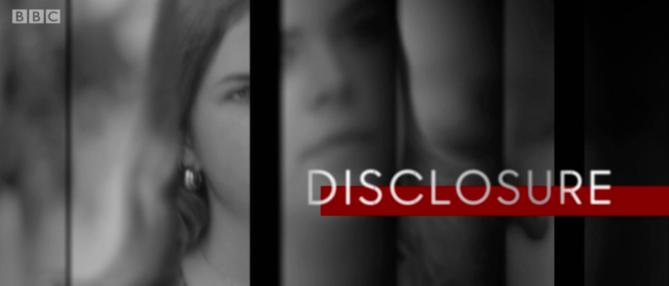 Disclosure title screen